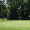 A view of a hole at Raccoon International Golf Club