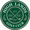 High Lands Golf Club - Private Logo